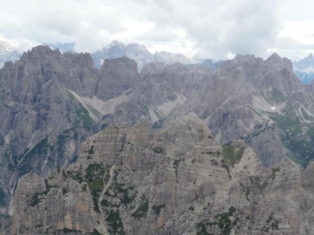 Panorama su Monfalconi, Spalti di Toro e Cridola.