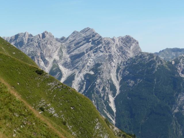 Il Cornaget e la sua Cresta Ovest.